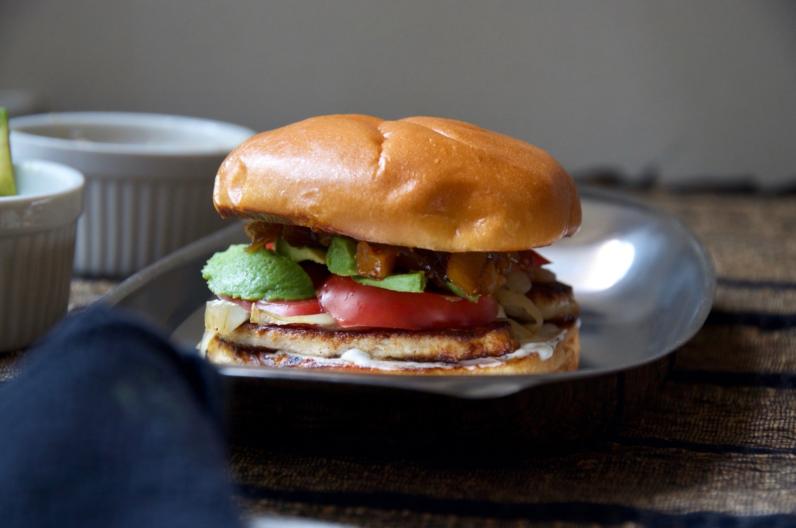 halloumi burgers – also honey