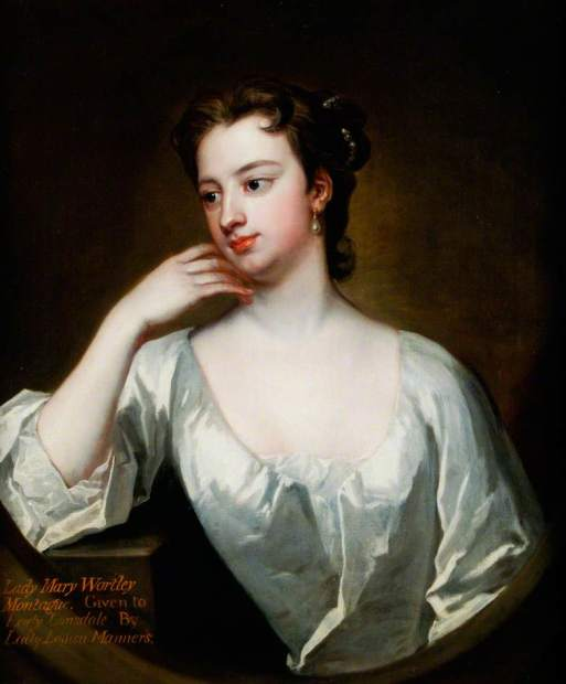 Jervas, Charles, c.1675-1739; Lady Mary Wortley Montagu (1689-1762)